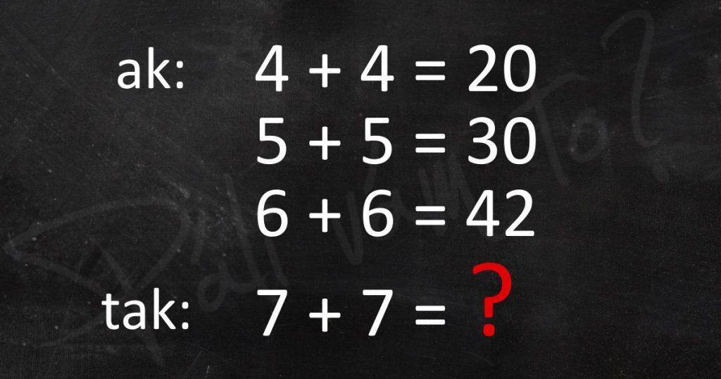 ľahká matematika ,však? ;)