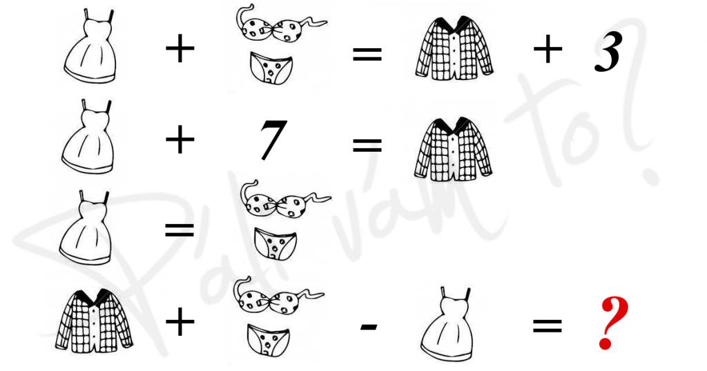 Obrázková matematika - aký bude výsledok?