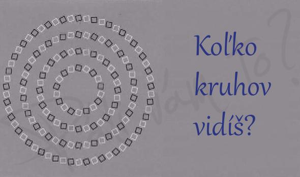 Koľko kruhov je podľa vás na obrázku?