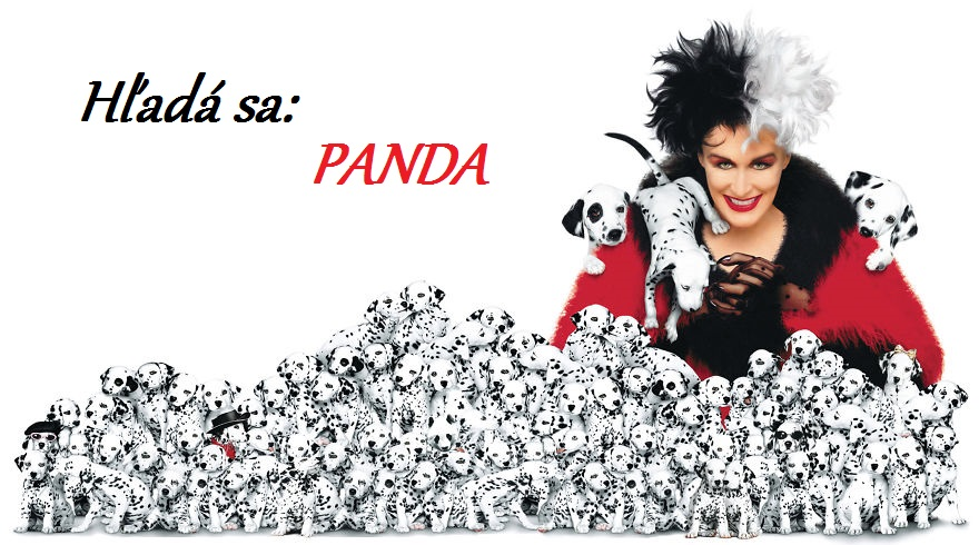 Dokážeš nájsť ukrytú pandu na obrázku?