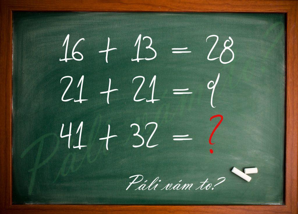 Príklady spolu uzko súvisia. Vyrišite náš matematický hlavolam?