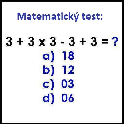Spomínate si ešte na hodiny matematiky na základnej škole? ;) (matematický hlavolam)