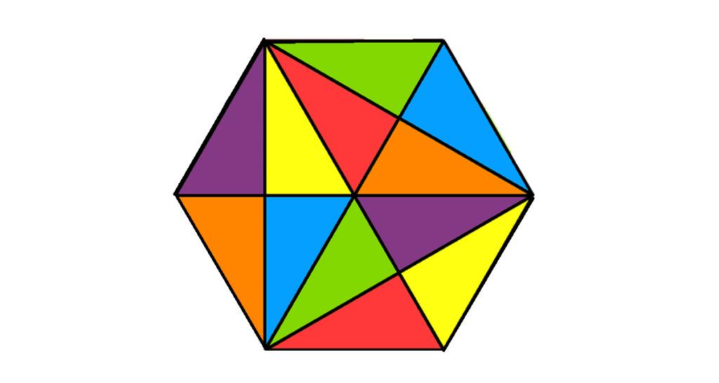 Spočítaj všetky trojuholníky na obrázku. Dokážeš to? :)