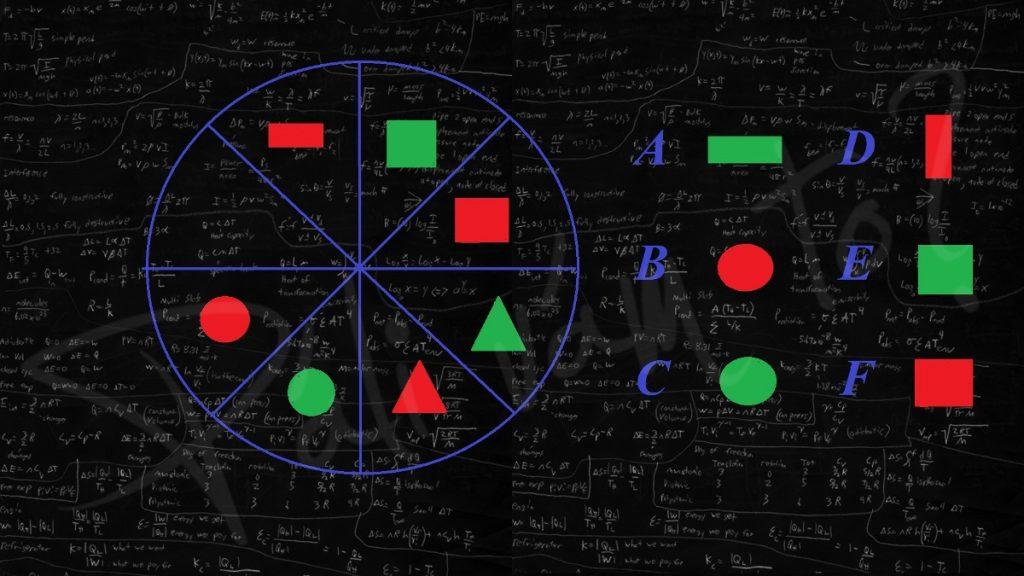 Geometricky hlavolam.... viete, ktorý útvar patrí na prázdne miesto?