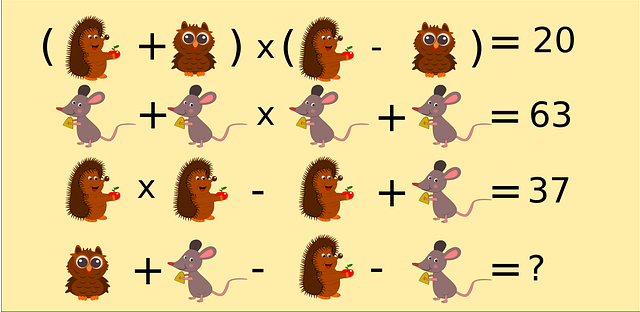 Dokážete rozlúštiť tento matematický hlavolam, vypočítajte, ktoré číslo patrí namiesto otáznika..
