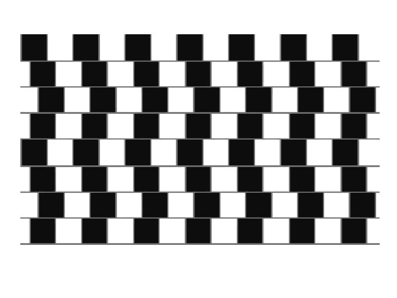 Určte, ktorá čiara je dlhšia. Optické ilúzie zaručene oklamú váš mozog.