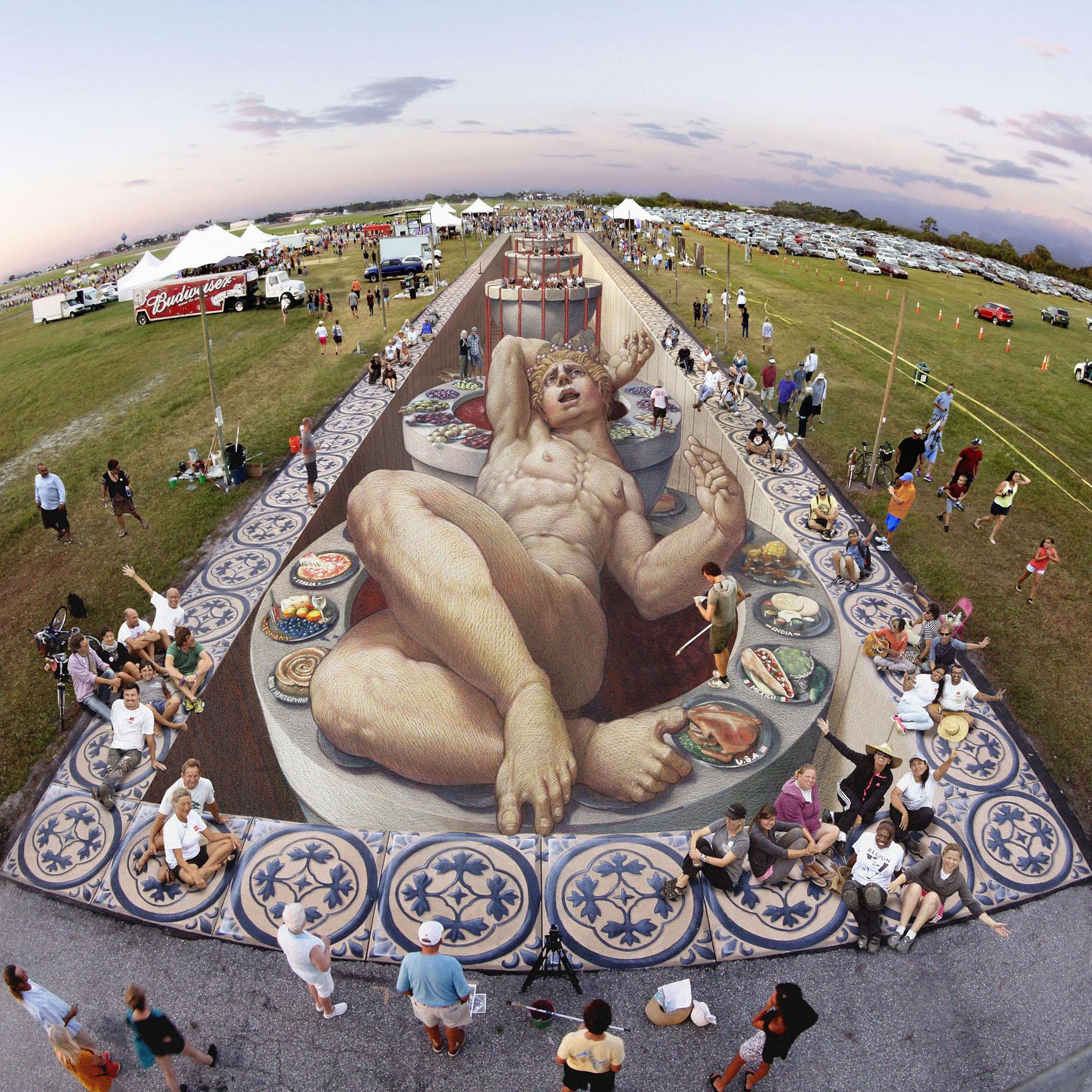 3D obrázky patria k neoddeliteľnej súčasti street artu. čo hovoríte na tento umelecký štýl?