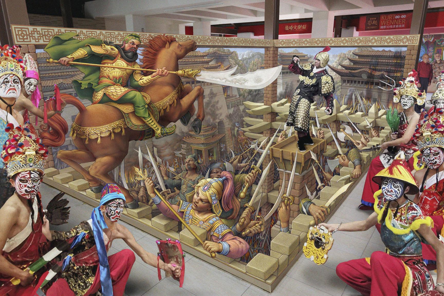 Čo je maľba a čo je skutočné? Dokonalá ilúzia z pera Kurta Wennera.