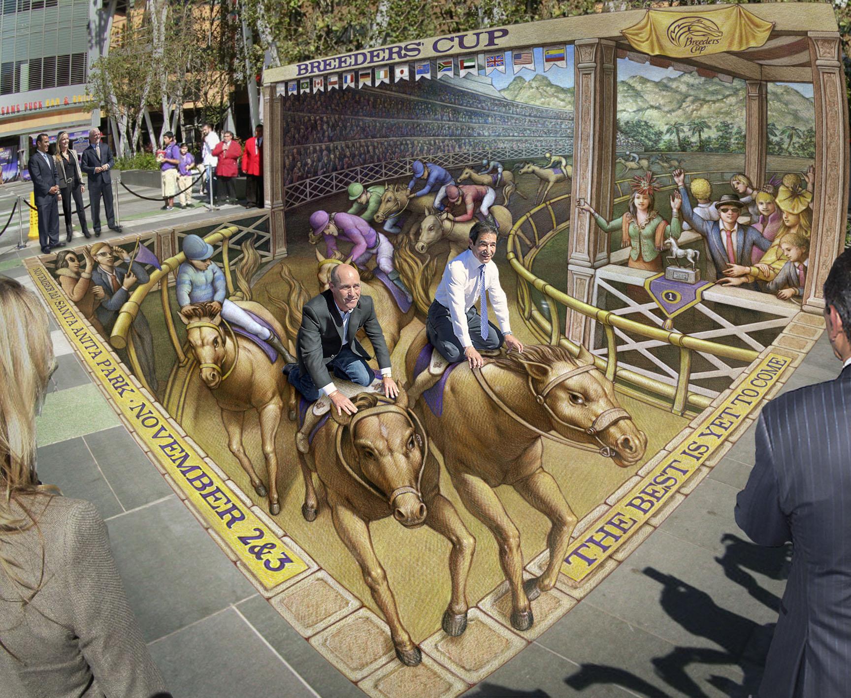 Umenie sa presunulo do ulíc. Fantastický 3D obrázok, ktorý vyzerá ako skutočnosť.