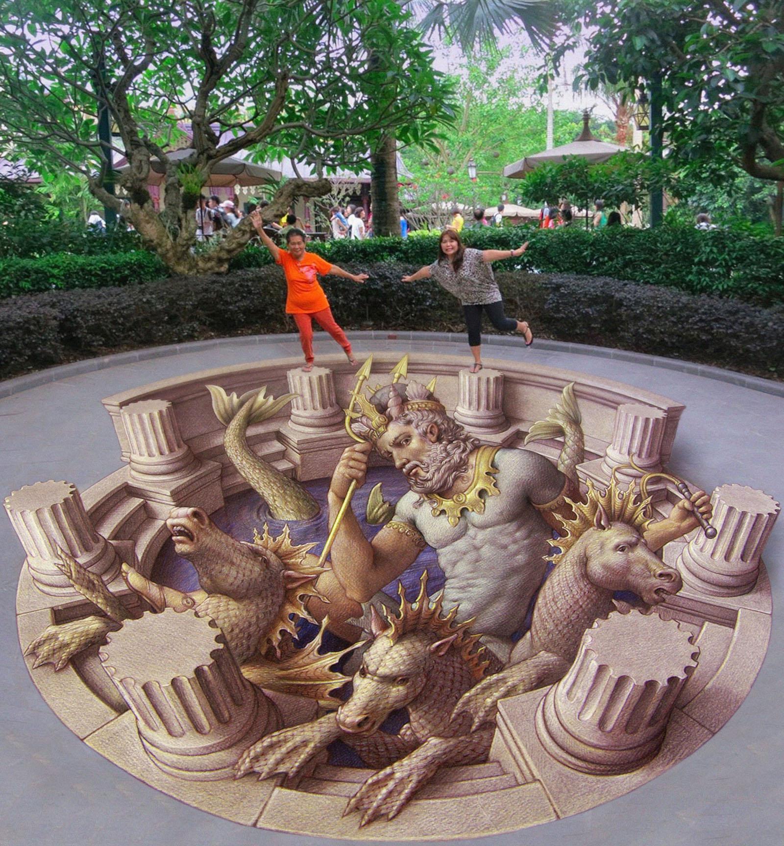 Videli ste už naživo 3D obrázky namaľované na ulici? Rozhodne stoja za to!
