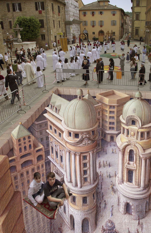 Tento 3D obrázok vás zaručene dostane, zdá sato byť celkom, ako skutočné, však? :)