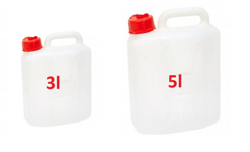 Máte dve nádoby. jedna má 3l, druhá5l. Dokážete pomocou nich odmerať 4 litre, ak máte stáli prístup k vode? Logické úlohy na palivamto.sk