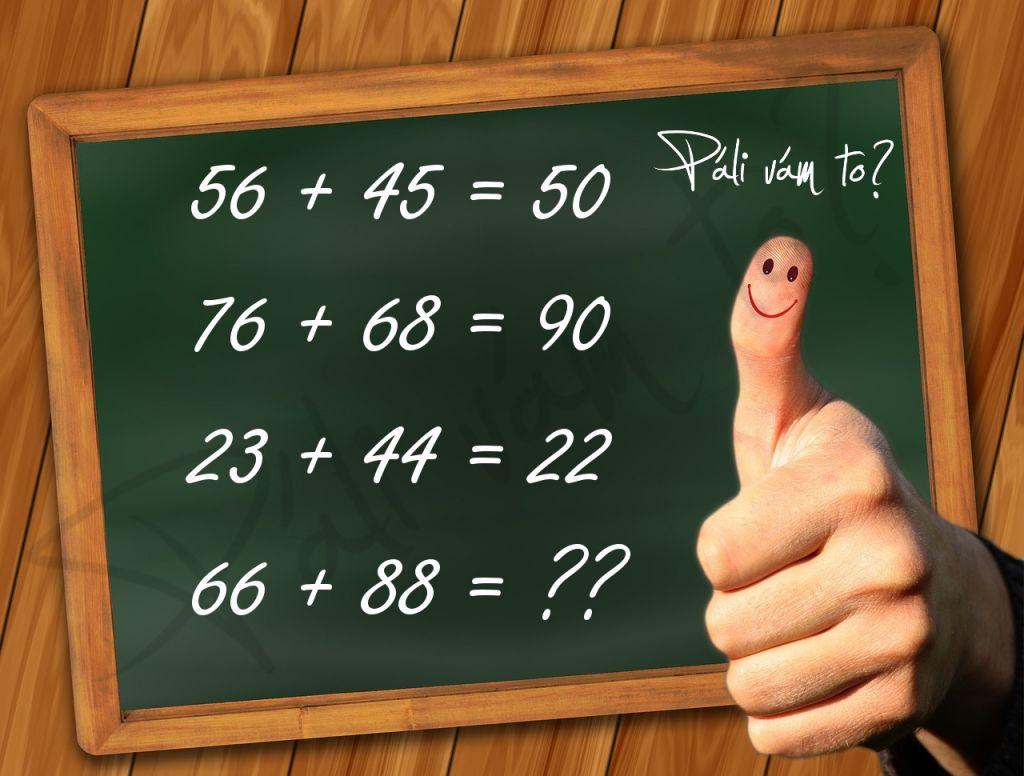 Prezrite si obrázok, dokážete zistiť ktoré číslo patrí namiesto otáznikov? Matematická hádanka má logické riešenie, len naň musíte prísť ;)